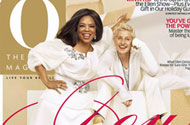 Ellen's Dream Comes True: Oprah Let the Lez Lady on the Cover of Her Magazine