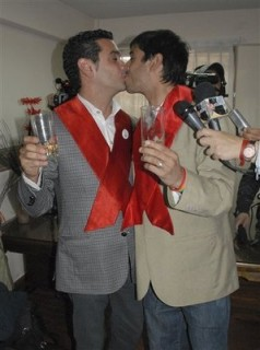 Latin America's 1st Gay Couple Has Married + Divorced Twice Already