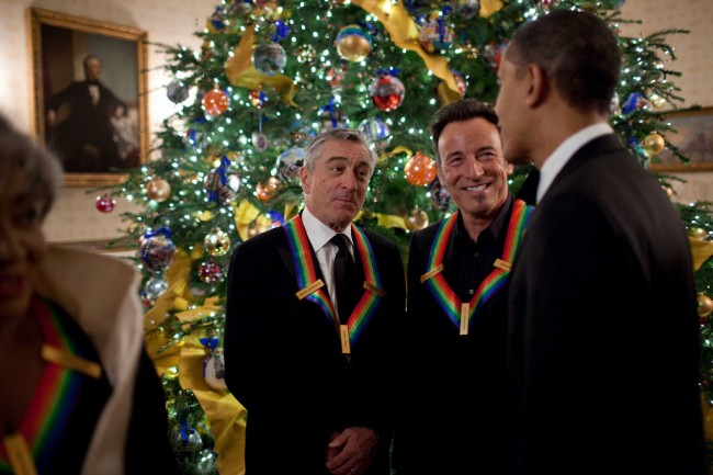 Hey Barack, Where's Your Fancy Rainbow Necklace?