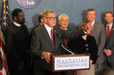 Targeting Manhattan Declaration's Catholic Signatories ... Ref 71's DOMA Problem