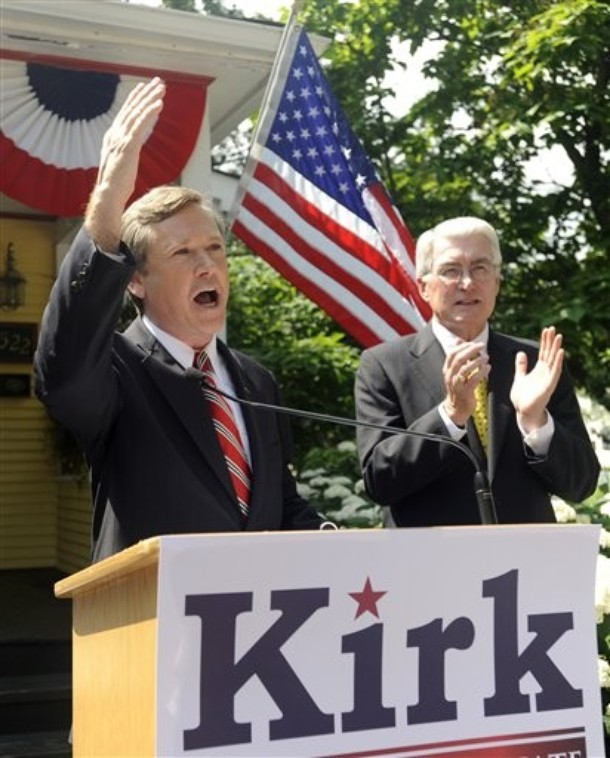 How Illinois Rep. Mark Kirk Can Fight Back Against Andy Martin's Gay Witch Hunt