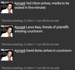 Why Is The Advocate Trying to Hide Lance Bass at the Prop 8 Trial? (Updated: It's Dustin Lance Black)