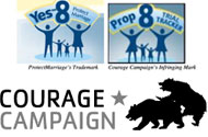 How ProtectMarriage.com Can Get Back at Courage Campaign's Logo Lift: Gay-Up CC's Logo