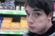 Shopping With Chris Rushton: The Condoms, Shampoo + Toilet Paper Used by Cewebrities