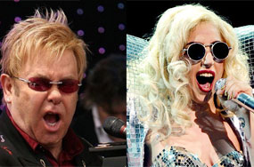 Will Elton John + Lady Gaga's Grammy Duet Mesh 'Rocket Man' With 'Bad Romance'?