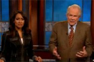 Pat Robertson's Comments About Haiti Are Crazy. But Who Is This Kristi Watts Nodding Along Next to Him?