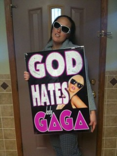 It's Too Bad Westboro's Megan Phelps Didn't Get a Chance to Perform On Stage With Lady Gaga