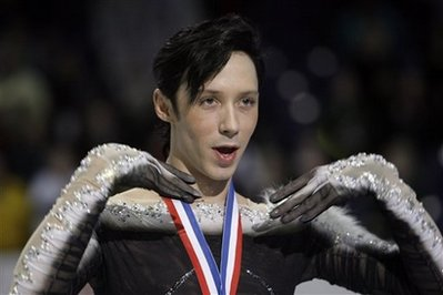 Johnny Weir Triple Salchows His Way On To the U.S. Olympic Team