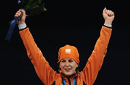 Ireen Wüst Is The Best: Gold Medal for Dutch Lesbian Speedskater