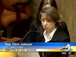 Lesbian Rep. Christine Johnson Read a Gay Poem For Utah's House. That Wasn't the Controversial Part