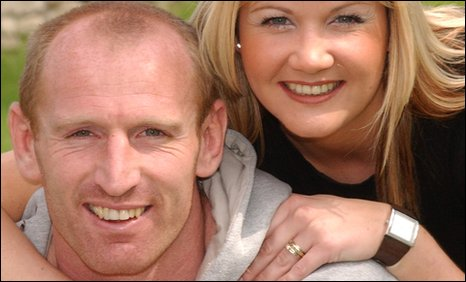 Why It Was No Big Deal to Gareth Thomas's Wife Jemma When He Told Her He Fancied Men