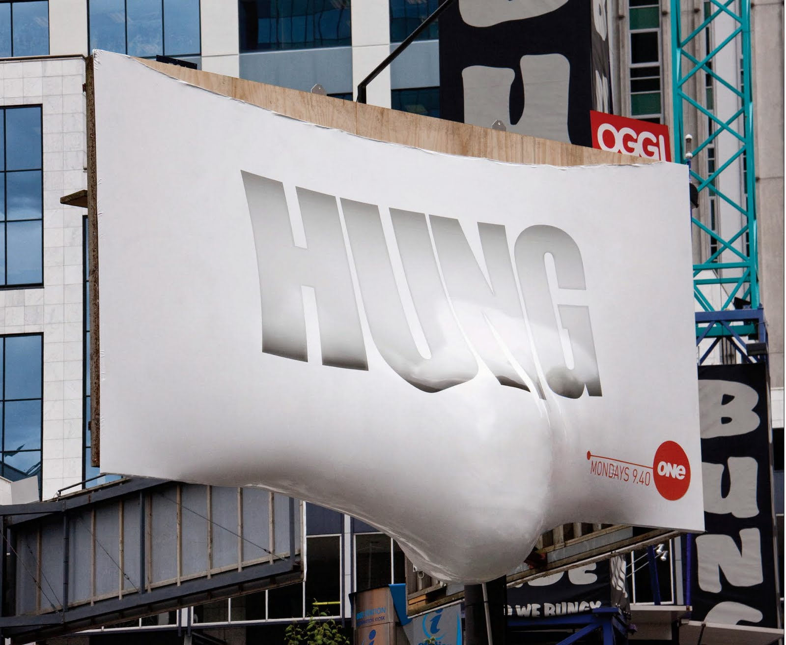 Hung's Bulging New Billboard Is Full of Spunk