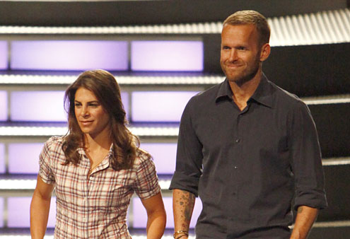 The Biggest Loser's Butt-Kicking Trainers Jillian Michaels + Bob Harper Both Sweat for Our Team