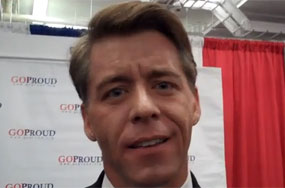 Jim LaSalvia's Awesome CPAC Hissy Fit Over Those Nat'l Organization for Marriage Meanies