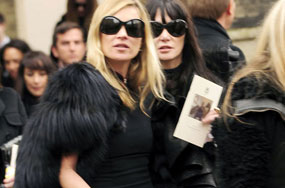 Alexander McQueen Laid to Rest. And Of Course, It Was Fabulous