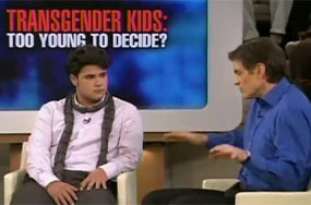 Dr. Oz Introduces Daytime Audiences to Blossoming, Confident Transgender Kids