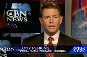 Just Because Tony Perkins Supports DADT, Should the Air Force Ban Him From Its Prayer Luncheon?