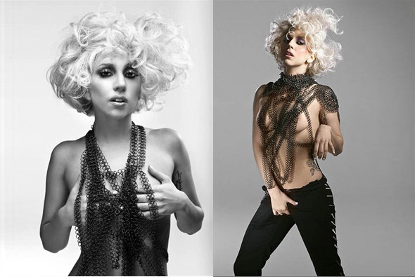 Lady Gaga Is All Girl, From Top to Bottom