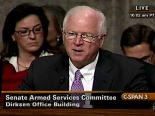 Who Was Today's Bigger DADT Hearings Dumbass: Saxby Chambliss Or John McCain?
