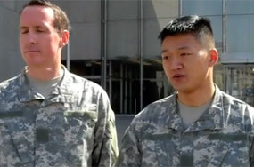 Lt. Dan Choi + Capt. Jim Pietrangelo Plead Not Guilty, Will Go to Trial