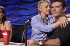 If Ellen DeGeneres + Simon Cowell Aren't Holding Knives At Each Other's Necks, Does It Mean They Like Each Other?