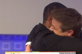Can't 2 Oscar-Caliber Actors Hug on National TV and Not Get Crap For It?