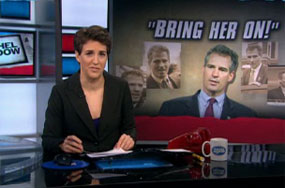 How Scott Brown Got Rachel Maddow to Waste Some of MSNBC's Salary