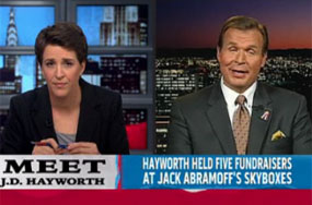 Where Did Ex-Rep. J.D. Hayworth Read About Man-Horse Intimacy In MA's Marriage Ruling? Great, Unanswerable Question!