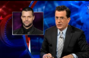 Yes, Even Stephen Colbert Knew Ricky Martin Was a Homosessual