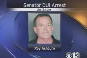 CA Anti-Gay State Sen. Roy Ashburn Arrested on DUI Charges After Leaving (Gay) Bar