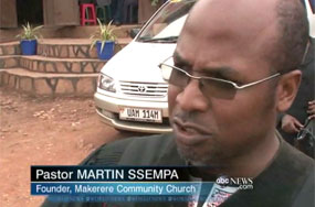 Can't You Let Proud Black Man Pastor Martin Ssempa Push to Execute Gays Without Saying Whites Taught Him the Way?