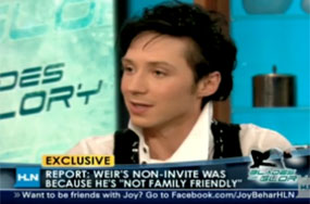 Johnny Weir Defines 'Family Friendly'