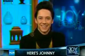 Did Johnny Weir Know Whom Was Having Sex at the Olympics?