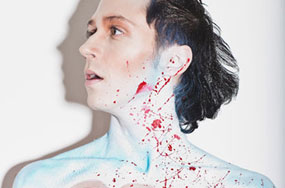 PHOTOS: Johnny Weir's Ruby Necklace