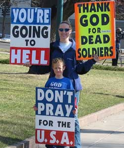 Westboro Church Once Again Free to Picket Outside Dead Missouri Soldiers' Funerals