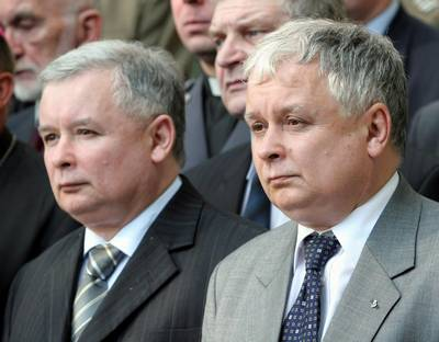 Jaroslaw Kaczynski, Gay Twin Brother of Poland's Homophobic Dead President, Wants the Job