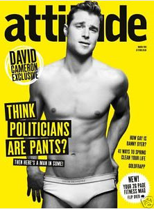 Surprise: Readers of Gay Men's Magazines Prefer Cute Models to Homophobic Party Leaders