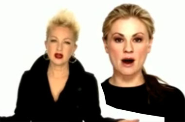 Anna Paquin Hijacks Cyndi Lauper's New Gay Activist Project By Coming Out as Bi