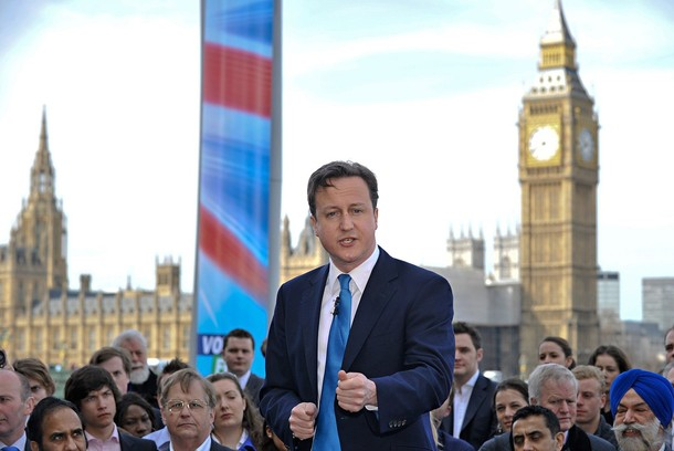 Can David Cameron Really Convince Britain's Gays His Party Doesn't Spit On Them?