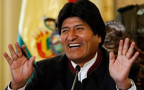 Bolivian President Evo Morales Didn't Mean to Imply Straight Guys Go Gay Over Chicken