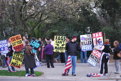 Westboro Borings Take the Good Fight to Facebook's Hometown