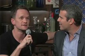 Neither Neil Patrick Harris Nor Jesse Tyler Ferguson Told Andy Cohen Anything Terribly Exciting, And We Still Watched!