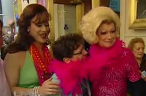 Wherein La Cage's Gays Dress Up Regis Philbin In Drag