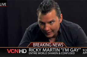 Only Tiger Woods' Press Conferences About His Manwhoring Are More Shocking Than Ricky Martin's