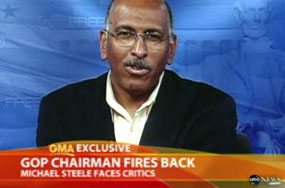 Michael Steele Understands Even Republicans Cannot Stand Him. It Won't Effect His Job Prospects, However