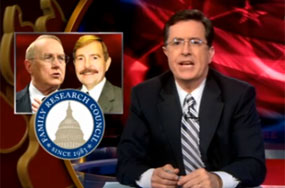 Even Stephen Colbert Finds His Help on Rentboy.com