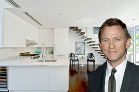 Daniel Craig's New Penthouse Pad Only Has Room For 1 Giant Pansexual Bed
