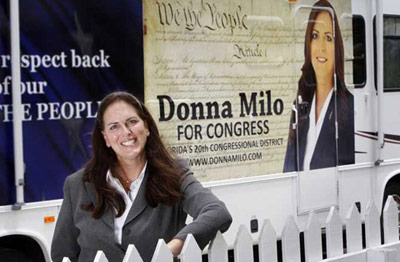 Florida's Anti-Gay Republican MTF House Candidate Donna Milo Lost the GOP Primary. For The Best?