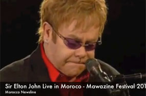 Elton John Pulls Off Moroccan Music Festival Without Extremists Rioting in the Streets