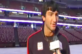 When Evan Lysacek Hangs Out With His Buddies He 'Gets a Little Crazy'